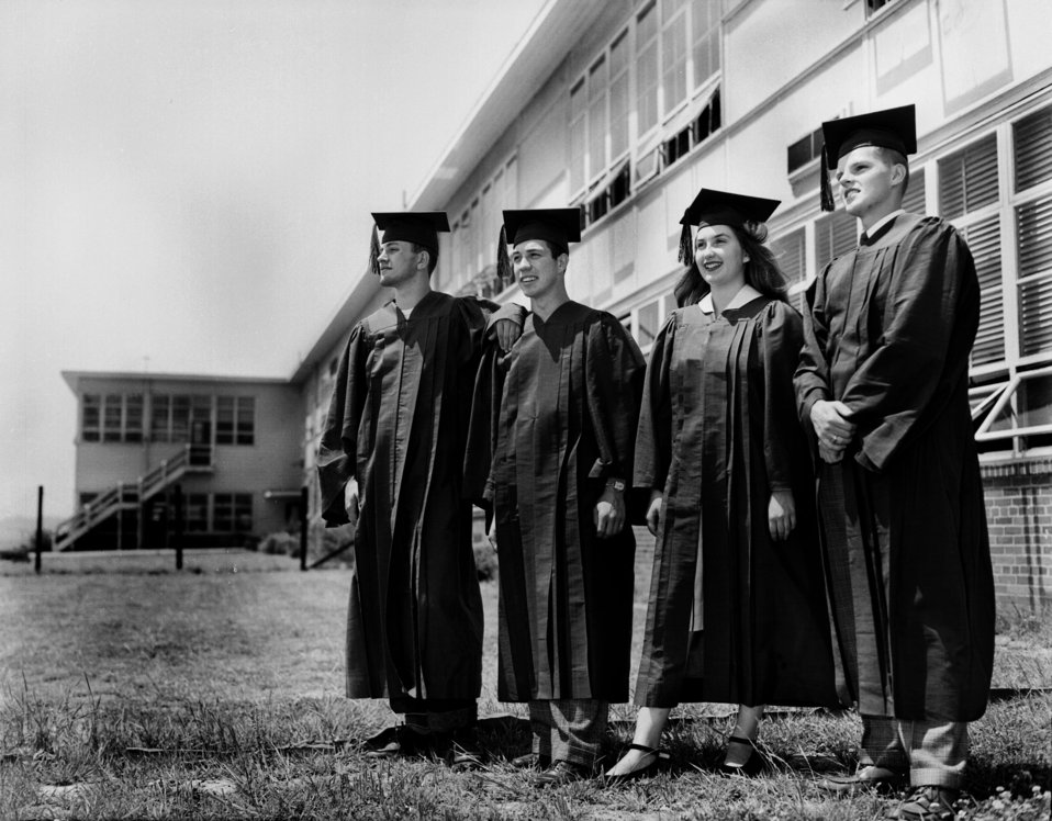 Oak Ridge High School Class Officers 1948