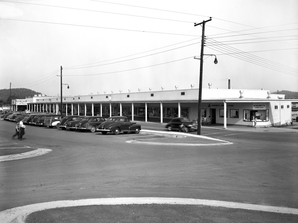 Jackson Square Broadway Ave. Stores 1949