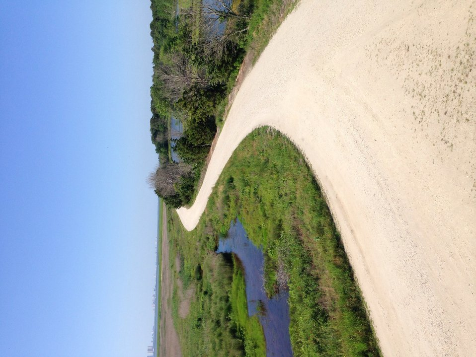 Forsythe wildlife drive after hurricane repairs