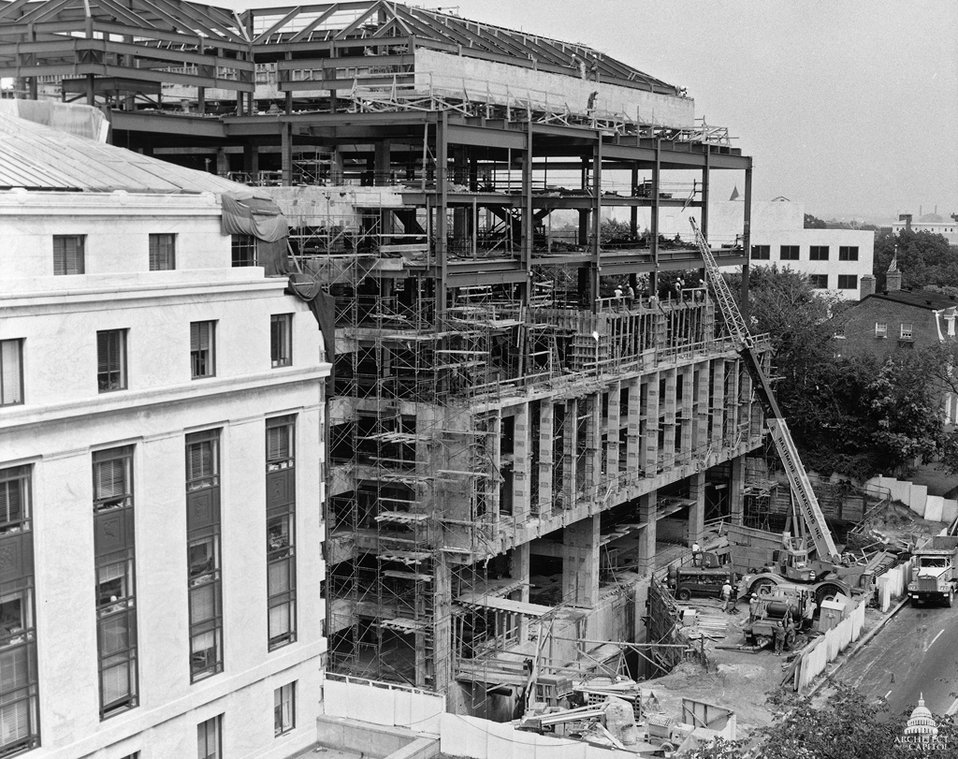 Construction of the Hart Senate Office Building