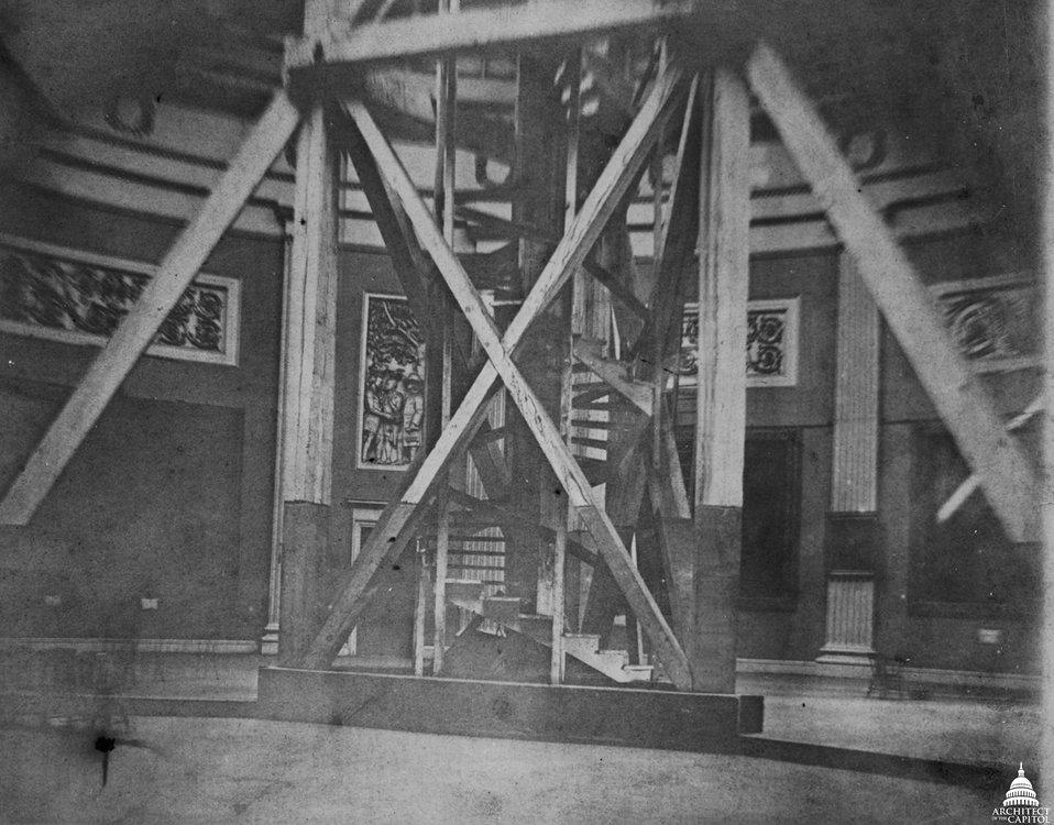 Dome Scaffold c. 1860