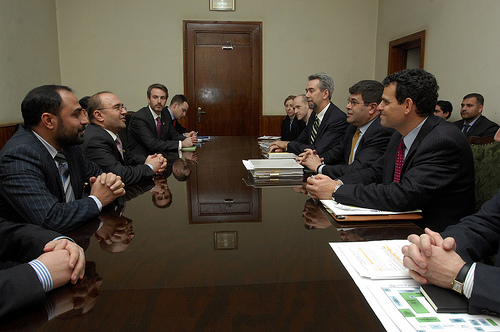 Meeting with Central Bank Governor Fitrat