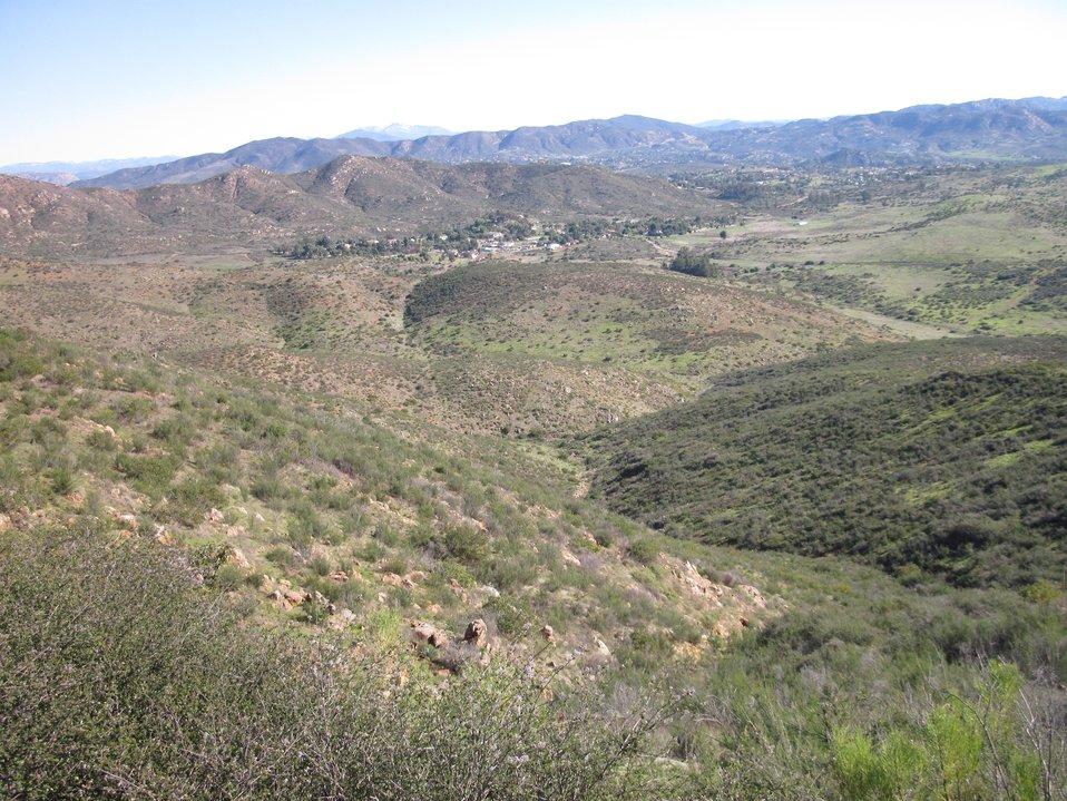 Hidden Valley landscape shot