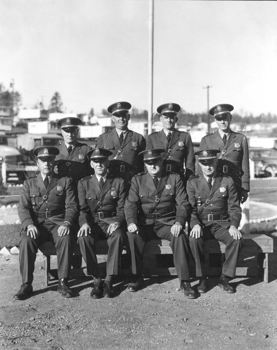 AEC  Atomic Energy Commsion Patrol Officers Oak Ridge
