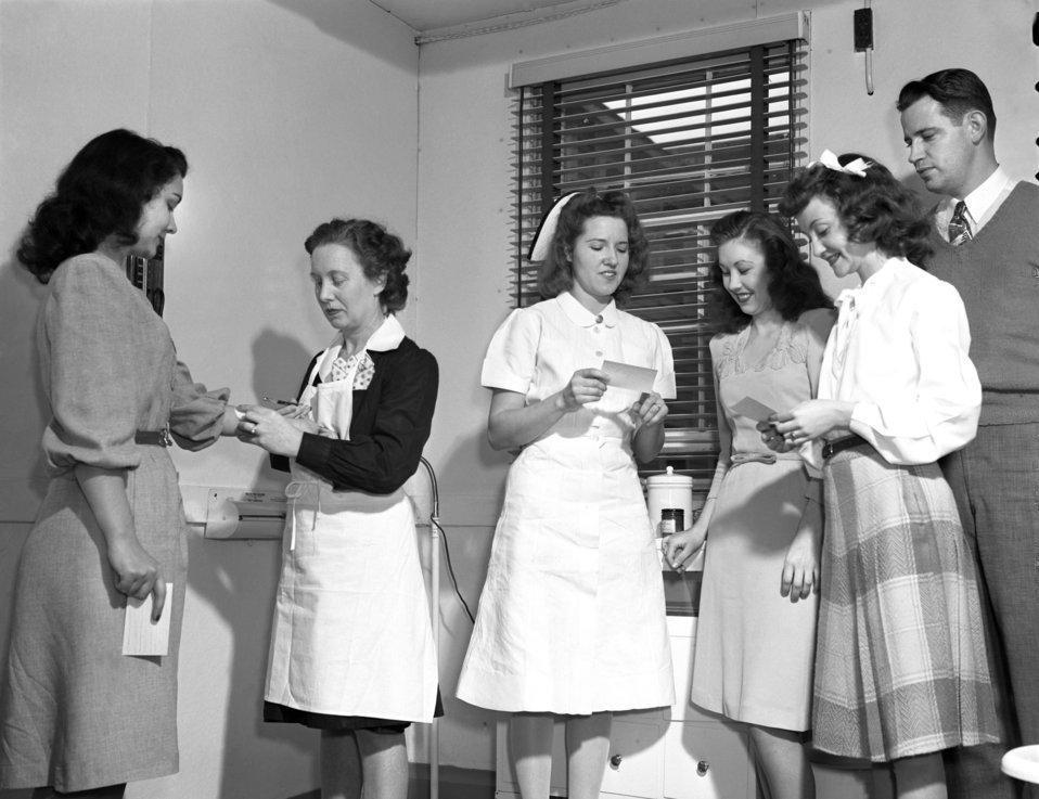 T.B. Testing Health Department Oak Ridge 1947