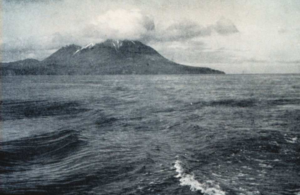 Kagamil Island from the south.
