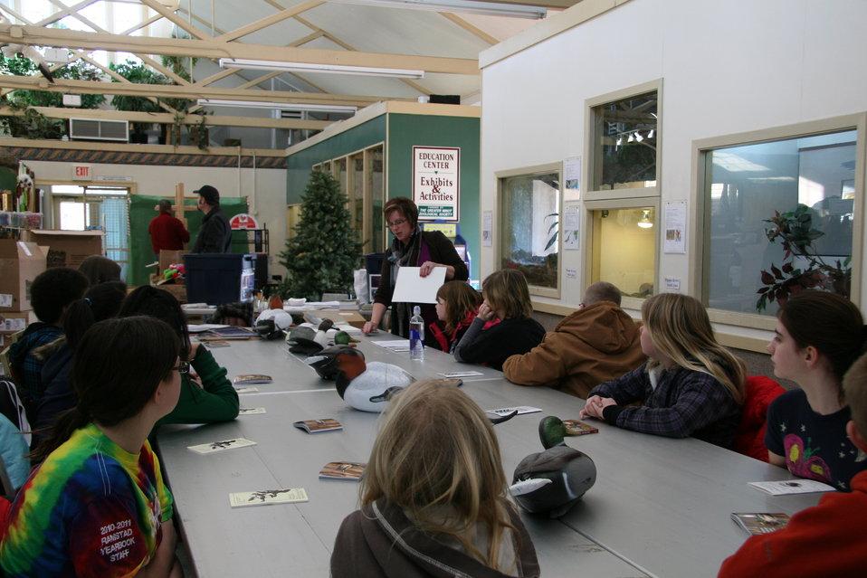 North Dakota Junior Duck Stamp Program - Learning Art Techniques
