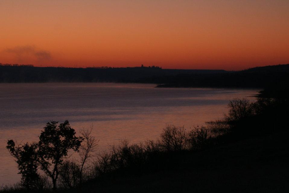 Good Morning from Des Lacs National Wildlife Refuge