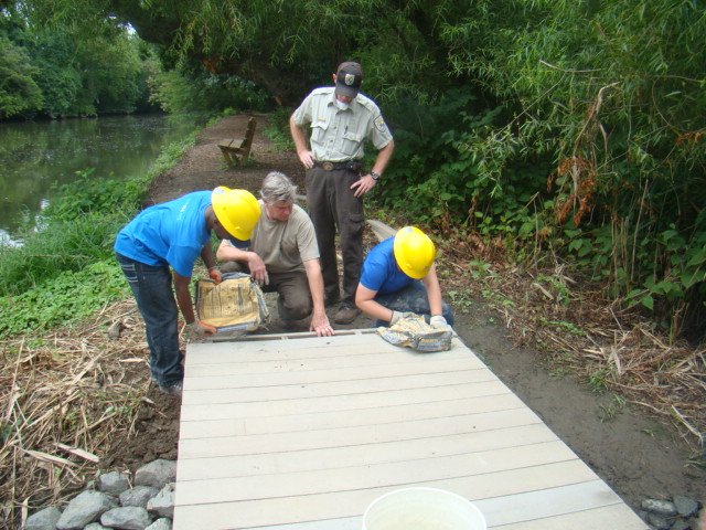 Building a boardwalk