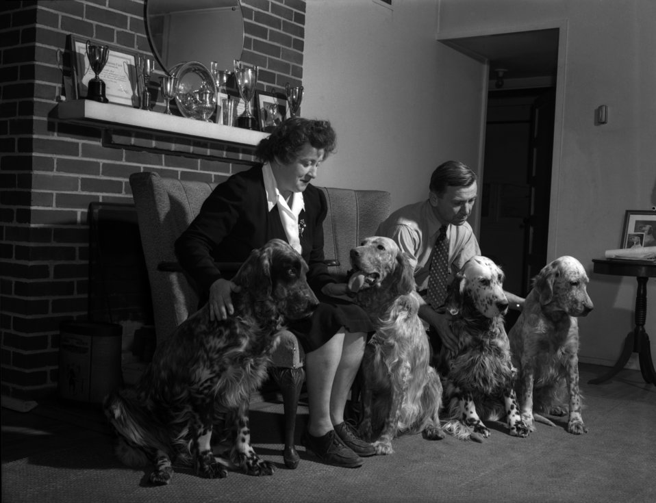 Mr. and Mrs. Tirpak and Dogs Oak Ridge