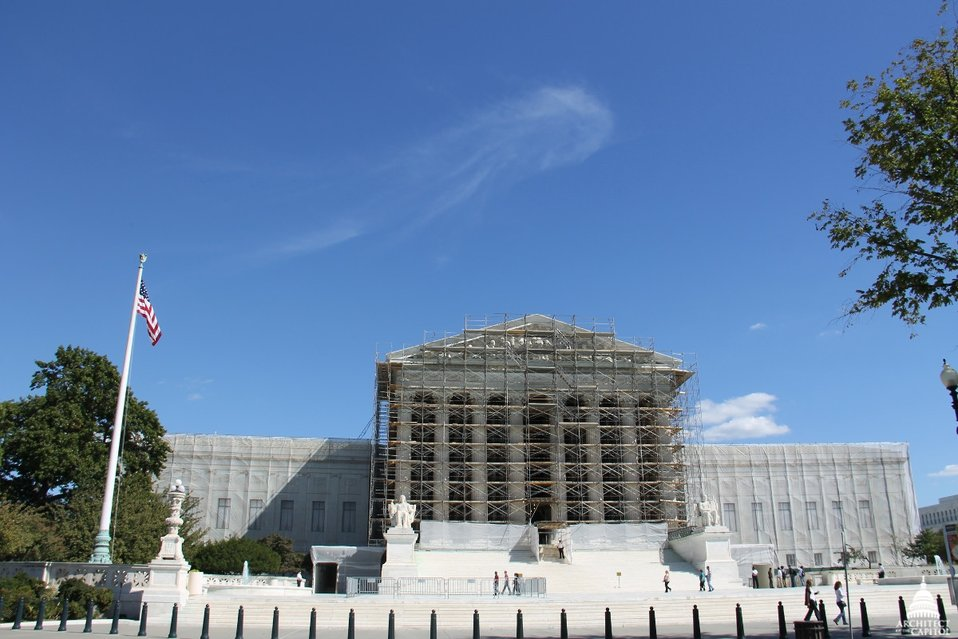 Supreme Court West Façade Restoration