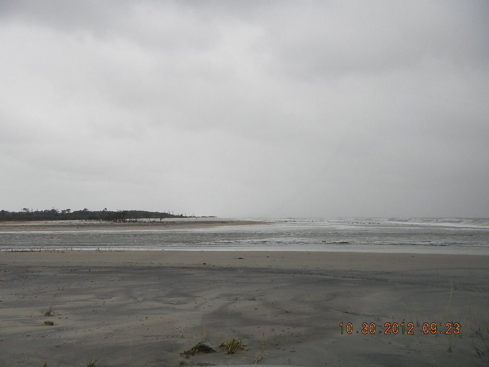 Hurricane Sandy hit Chincoteague National Wildlife Refuge (VA)