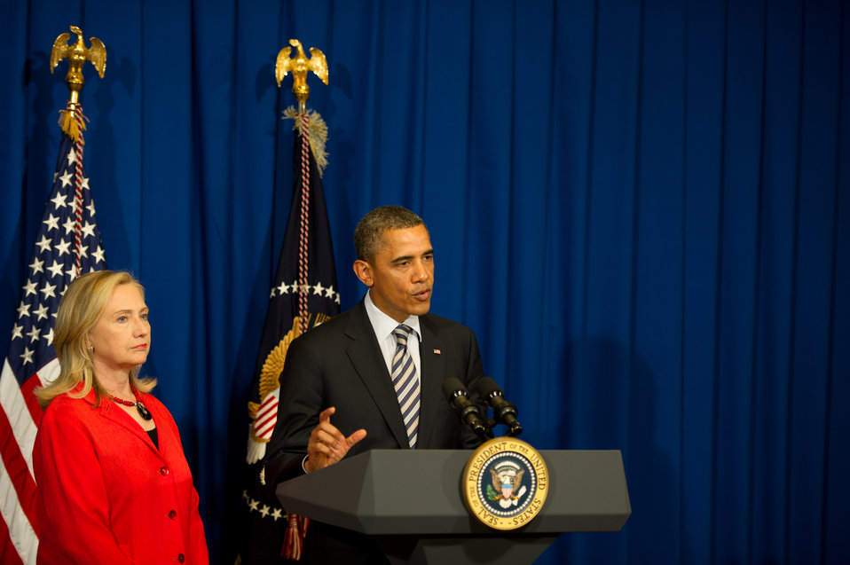 President Obama Announces He Will Send Secretary Clinton to Burma