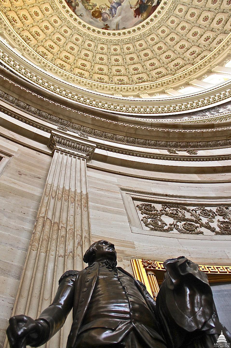 George Washington in Rotunda
