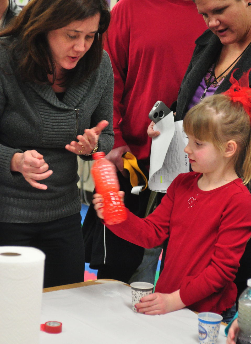 Woodland School STEM Night Oak Ridge 2014