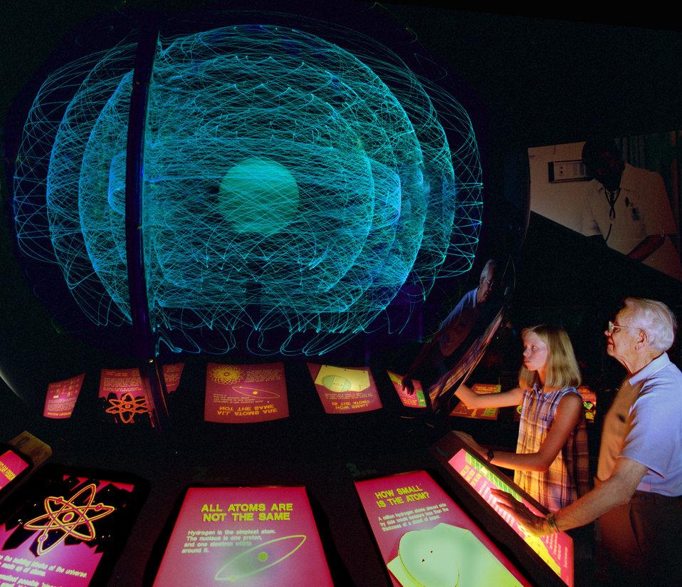 Atom Model at the American Museum of Science and Energy Oak Ridge