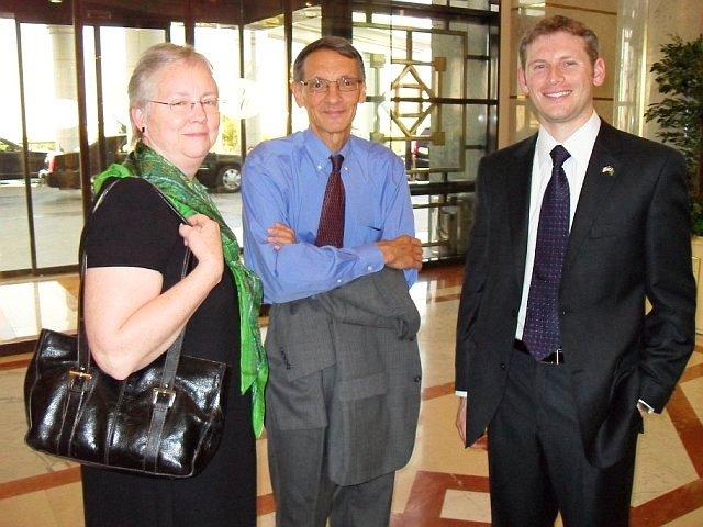 U.S.-Turkmenistan Business Council Participants Pose for a Photo