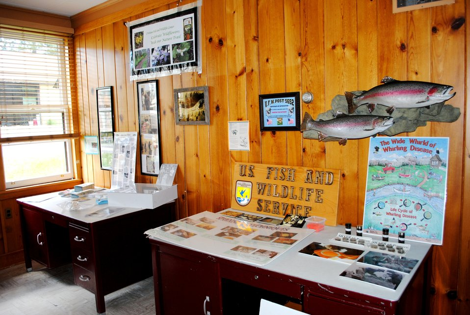 Creston National Fish Hatchery Visitor Center