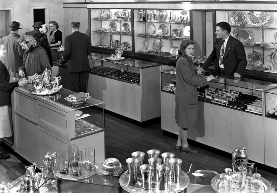 Henebry's Jeweler Oak Ridge 1948