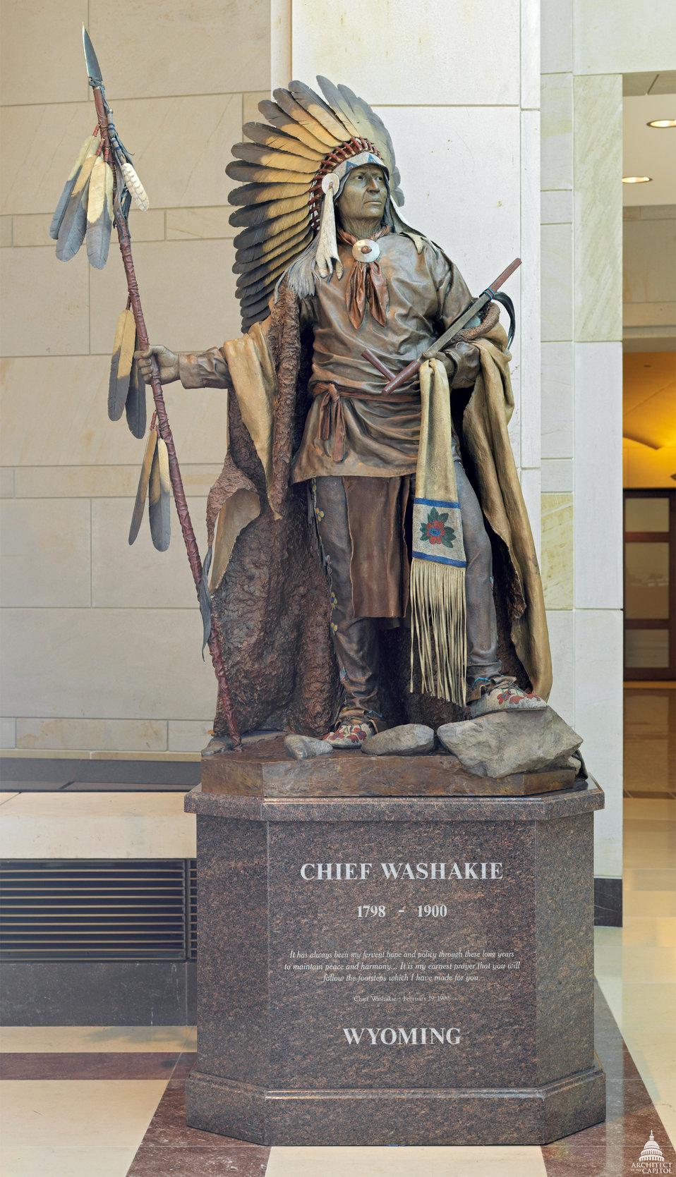 Washakie Statue