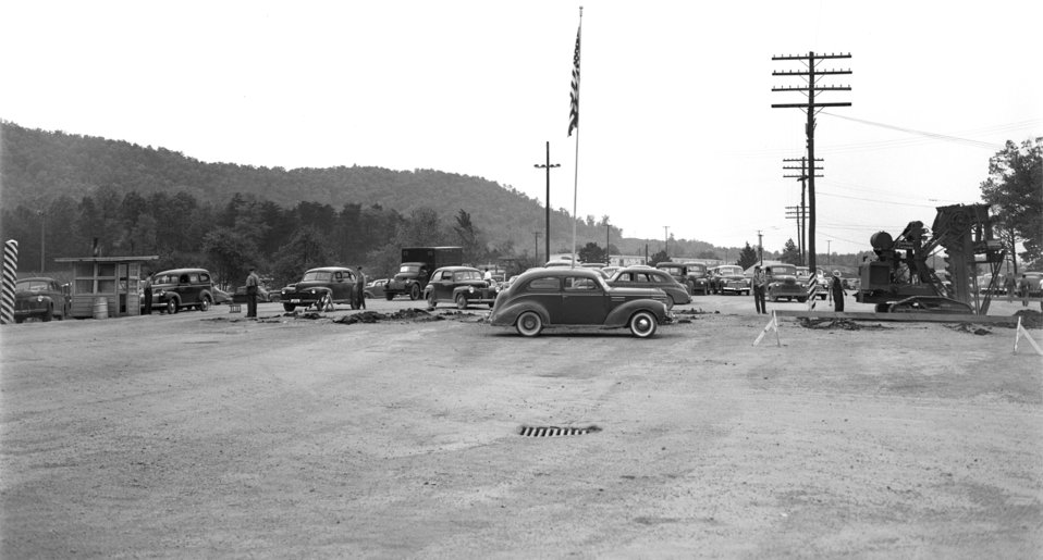 Elza Gate Removal Oak Ridge 1947
