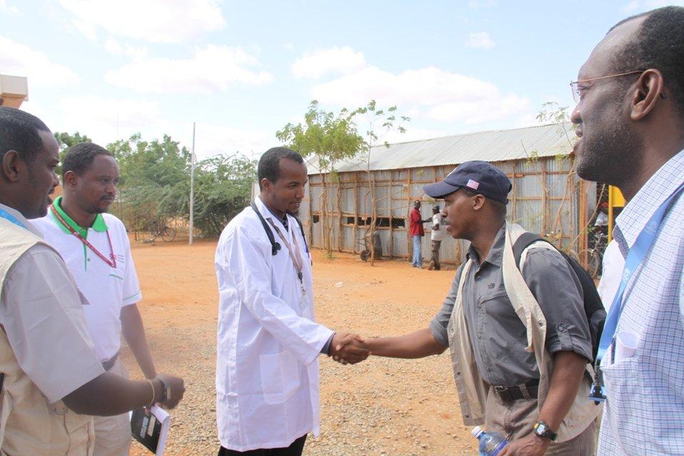 Deputy Assistant Secretary Brigety Visits a Hospital in Dadaab, Kenya