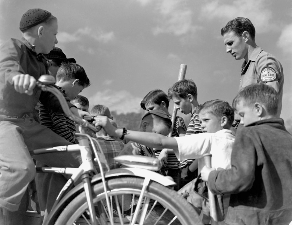 Playground Activity for Recreation Welfare Oak Ridge 1947