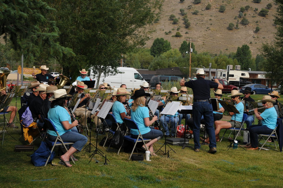 Music at the National Elk Refuge Centennial Ceremony