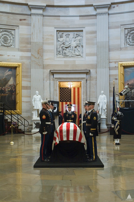 Lying in State - President Gerald R. Ford, January 2, 2007