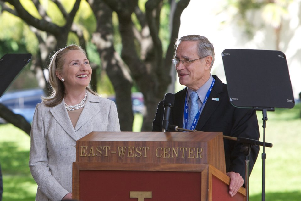 Secretary Clinton Delivers Remarks at the East West Center
