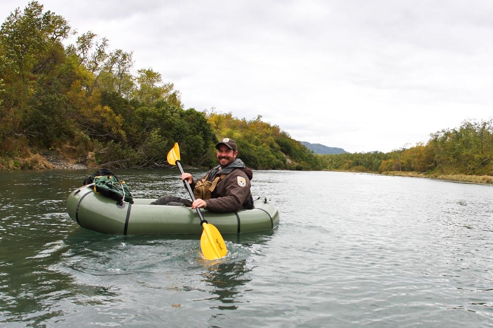 Park Ranger on Uganik River