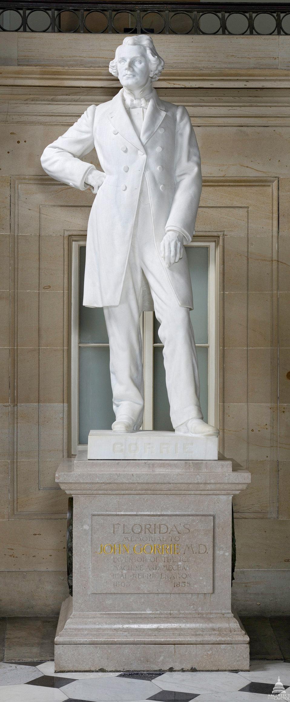 John Gorrie Statue