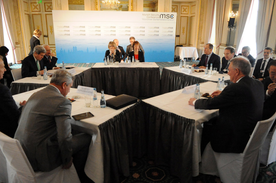 Quartet Members Meet on Sidelines of Munich Security Conference