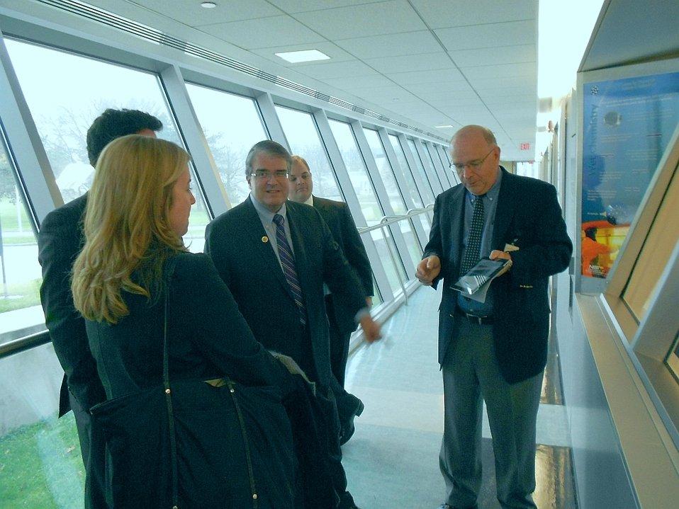 U.S. Representative Culberson Visit