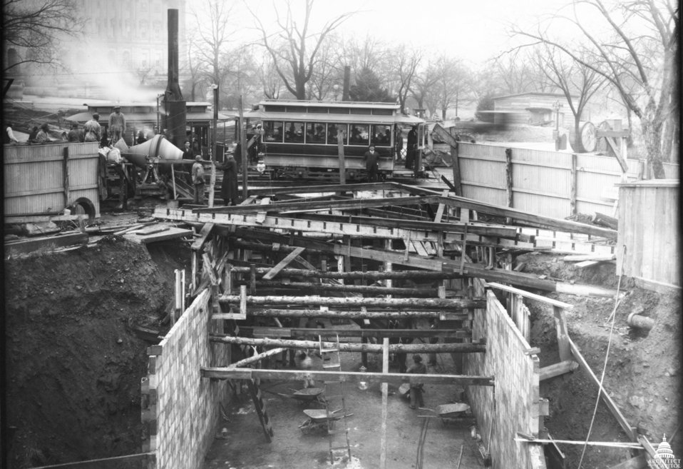 Senate Office Building Tunnel Construction 1907
