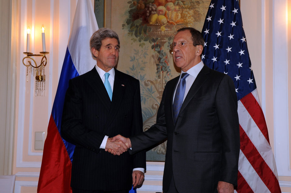 Secretary Kerry Meets With Russian Foreign Minister Lavrov at Munich Security Conference