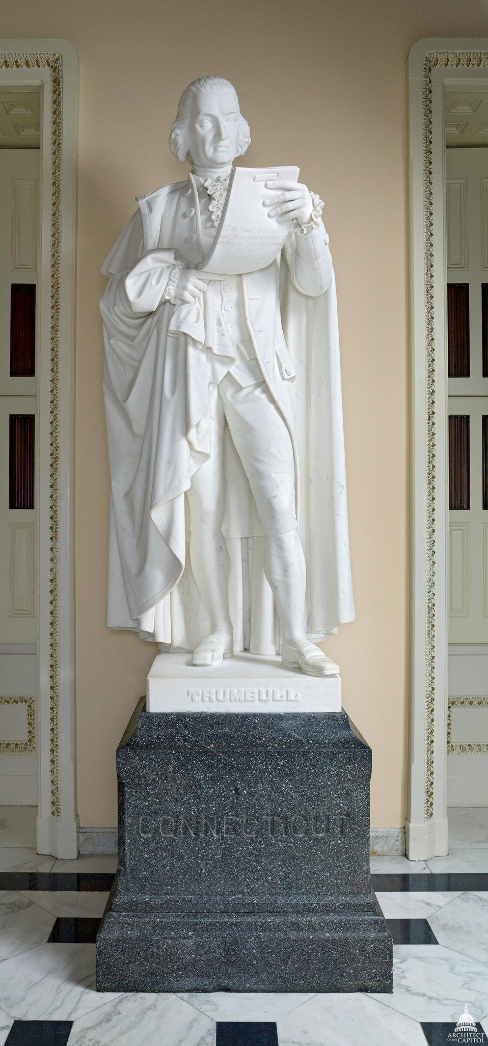 Jonathan Trumbull Statue