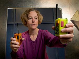 NIST engineer Kate Remley