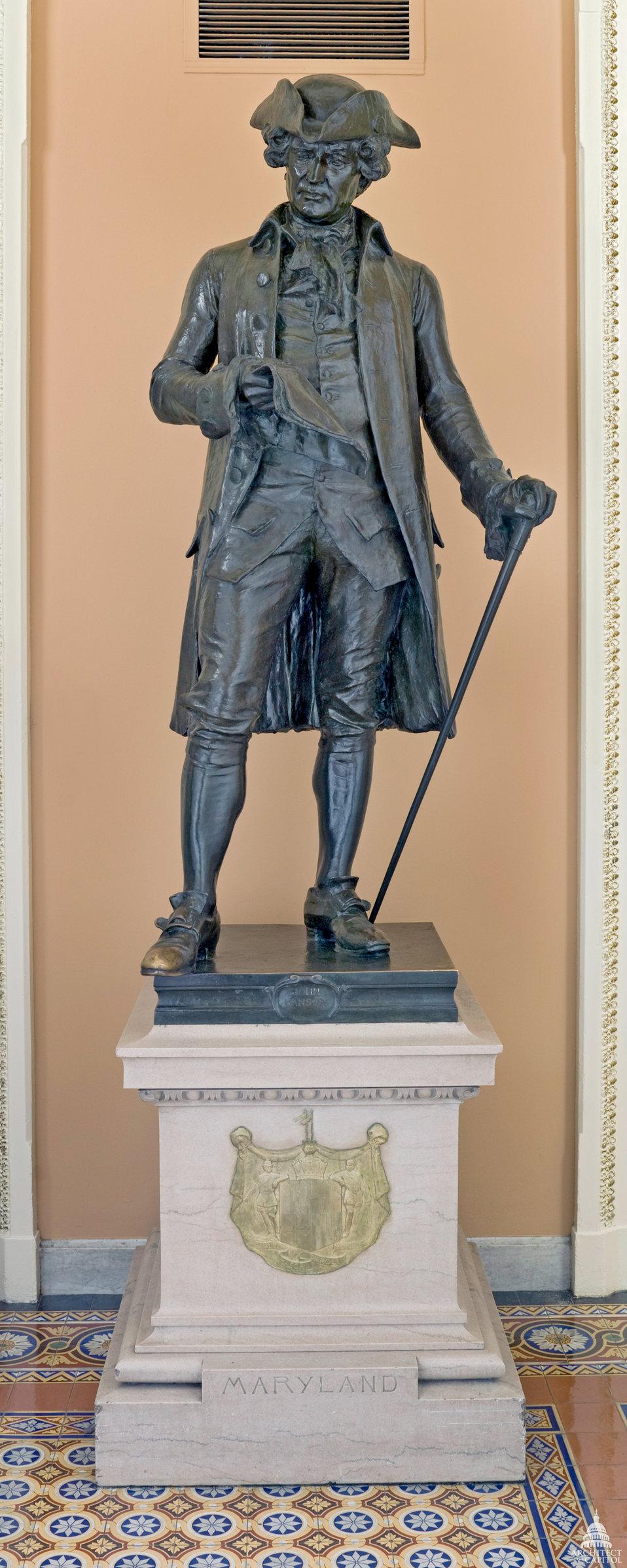 John Hanson Statue