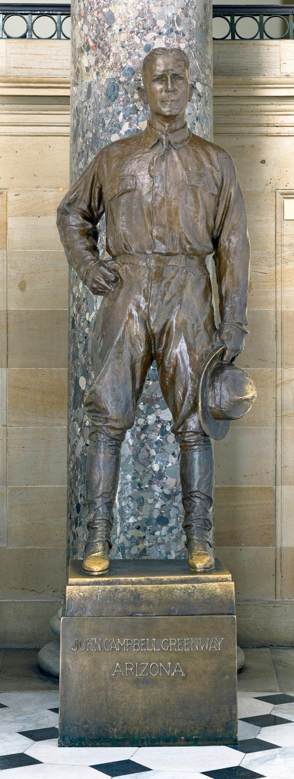 John Campbell Greenway Statue