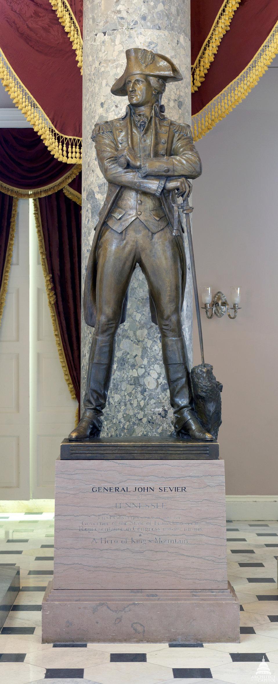 John Sevier Statue