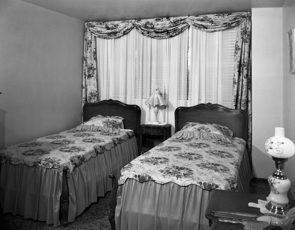 Garden Apartments Interiors Oak Ridge 1949