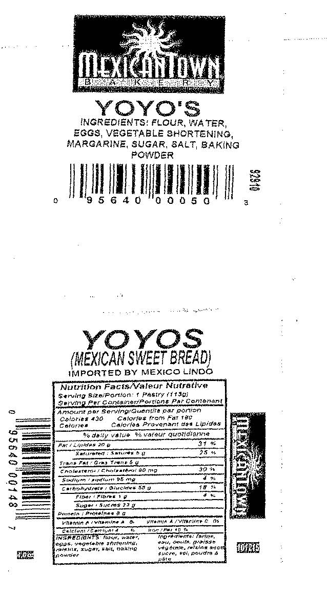 RECALLED - Mexicantown Yoyo's