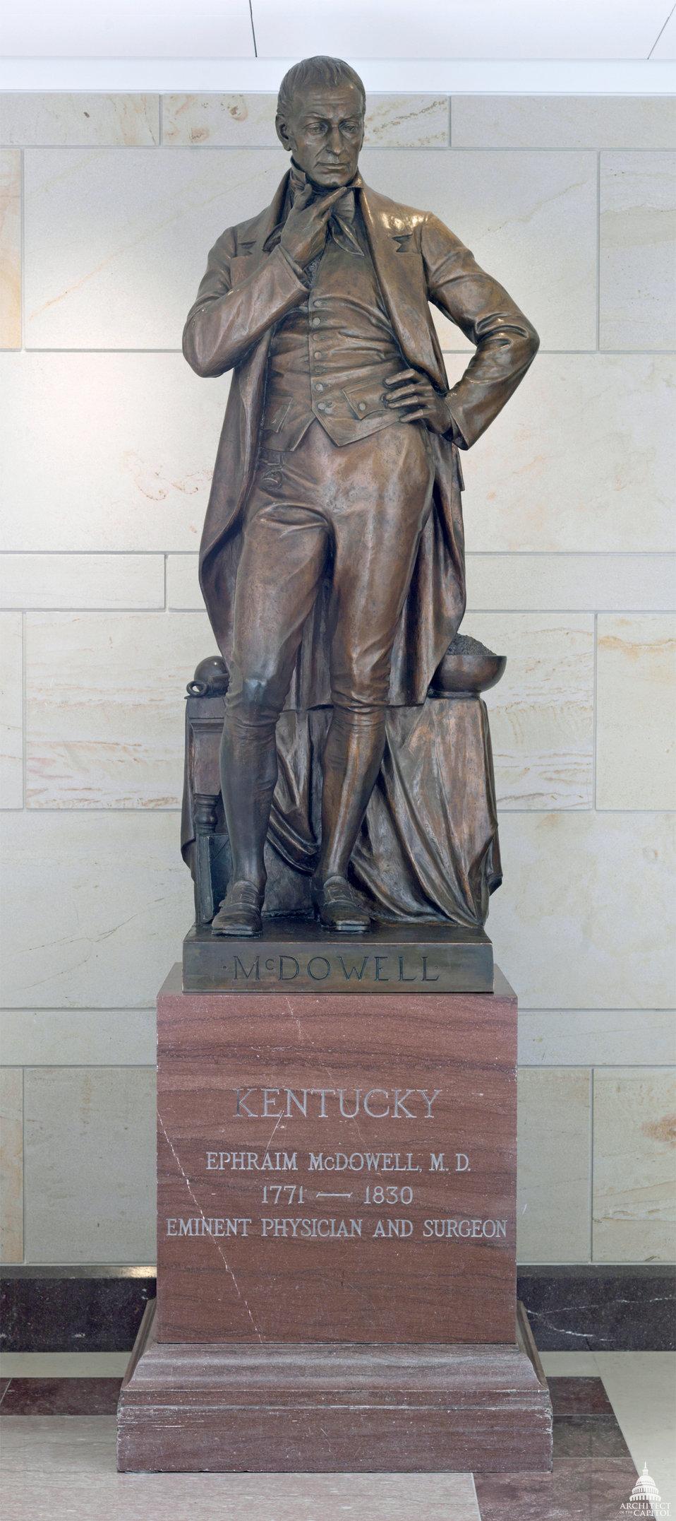 Ephraim McDowell Statue