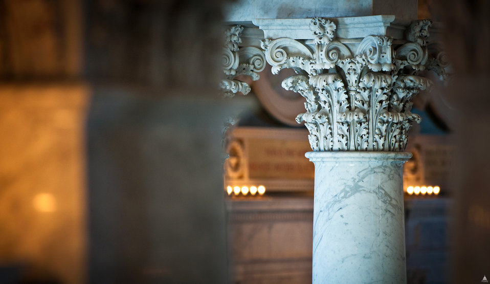 Column Capital in the Library of Congress