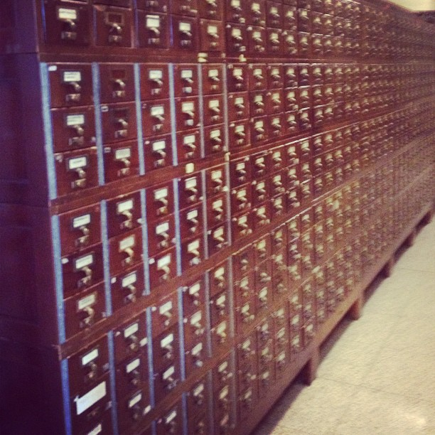 An early 'Google machine' for 180 miles of shelves @librarycongess.