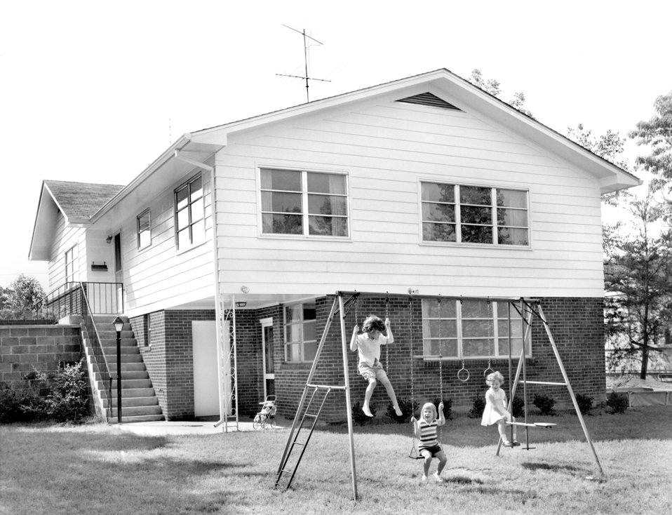 Type A House Remodeled Outer Dr. 1957 Oak Ridge