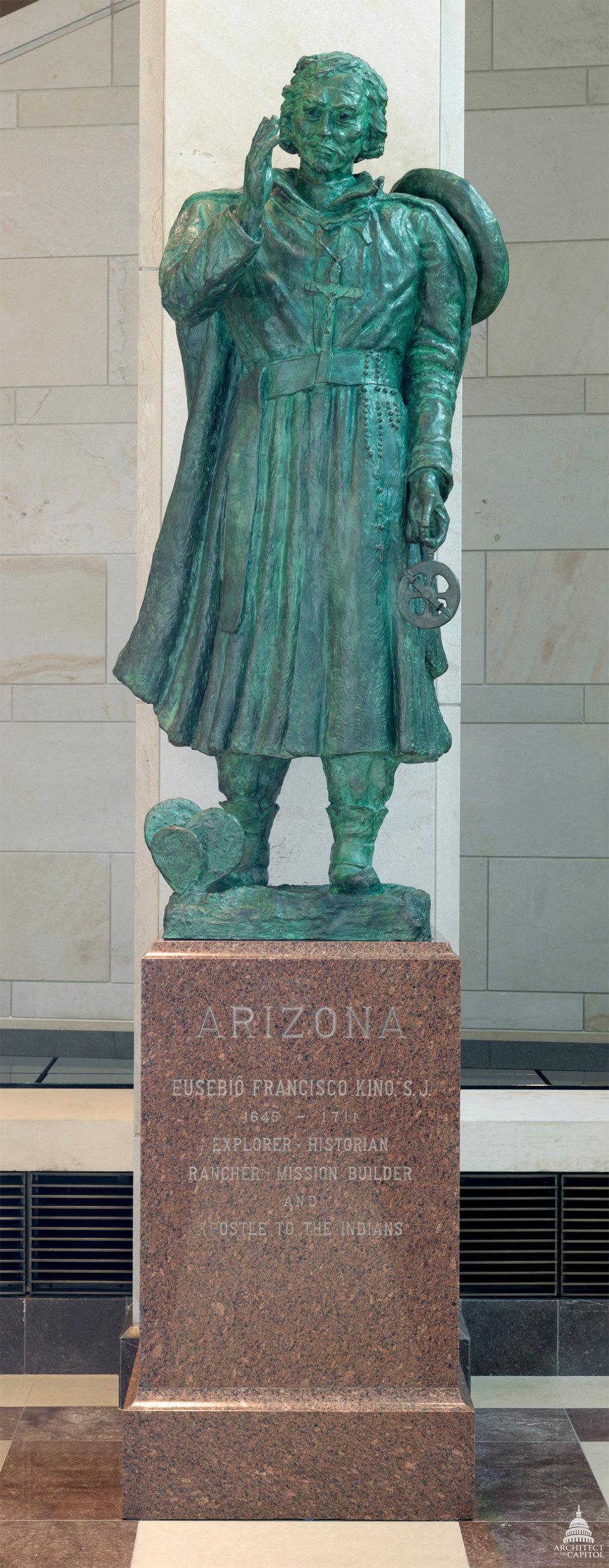 Eusebio Kino Statue