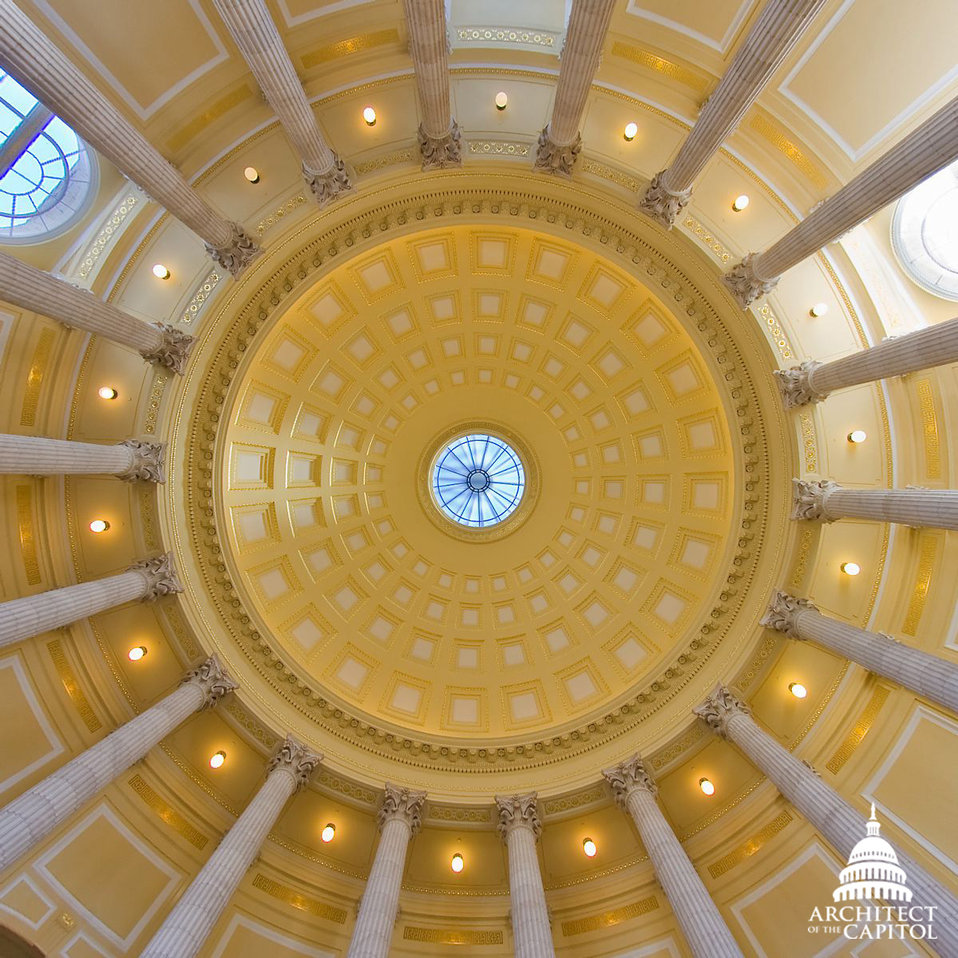 Cannon Rotunda Ceiling
