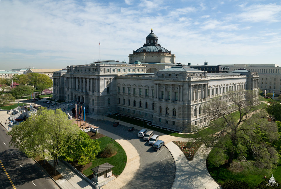 Library of Congress Thomas Jefferson Building